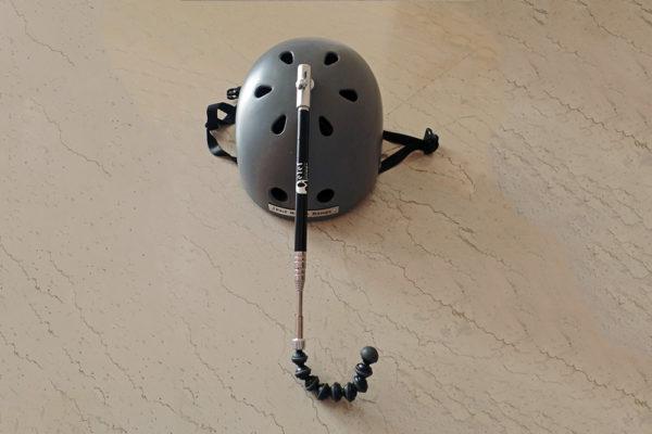 Telescopic helmet headpointer