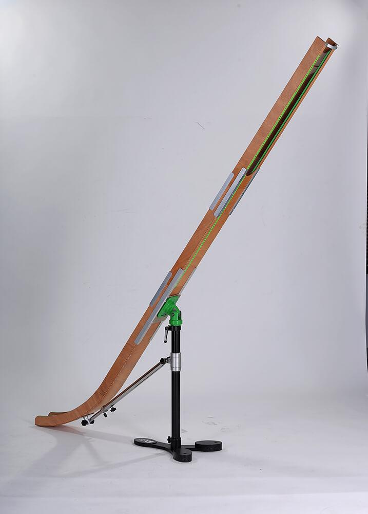 Elef Deluxe Dark Wooden Ramp