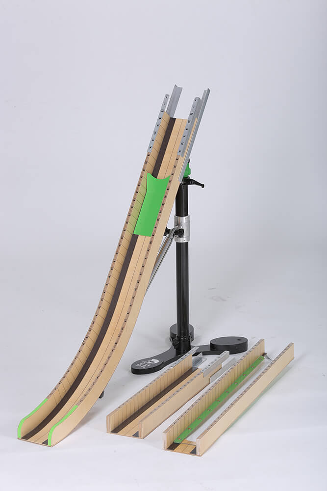 Elef Deluxe Light Wooden Ramp